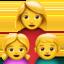 family: woman, girl, boy Emoji on Apple, iOS