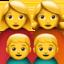 男孩上的Apple, iOS表情符号