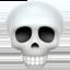 skull Emoji on Apple, iOS
