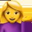 woman tipping hand Emoji on Apple, iOS