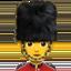 guard Emoji on Apple, iOS