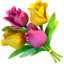 bouquet Emoji on Apple, iOS