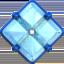 diamond with a dot Emoji on Apple, iOS