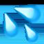 sweat droplets Emoji on Apple, iOS
