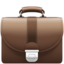 briefcase Emoji on Apple, iOS