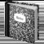 notebook Emoji on Apple, iOS