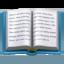 open book Emoji on Apple, iOS