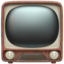 television Emoji on Apple, iOS
