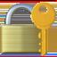 Emoji de cerrado con llave en Apple, iOS