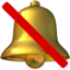 bell Emoji on Apple, iOS