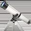 telescope Emoji on Apple, iOS
