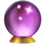 crystal ball Emoji on Apple, iOS