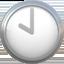 ten o'clock Emoji on Apple, iOS