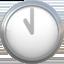 eleven o'clock Emoji on Apple, iOS