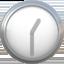 one-thirty Emoji on Apple, iOS