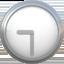 nine-thirty Emoji on Apple, iOS
