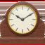 mantelpiece clock Emoji on Apple, iOS