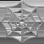 spider web Emoji on Apple, iOS