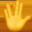 vulcan salute Emoji on Apple, iOS