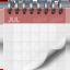 spiral calendar Emoji on Apple, iOS