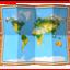 world map Emoji on Apple, iOS