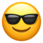 partying face Emoji on Apple, iOS