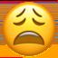 weary face Emoji on Apple, iOS