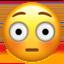 flushed face Emoji on Apple, iOS