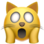 weary cat Emoji on Apple, iOS