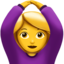 woman gesturing OK Emoji on Apple, iOS