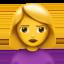 woman pouting Emoji on Apple, iOS
