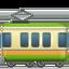 railway car Emoji on Apple, iOS