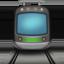 tram Emoji on Apple, iOS