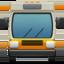 bus Emoji on Apple, iOS
