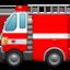fire engine Emoji on Apple, iOS