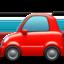 automobile Emoji on Apple, iOS