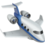 Emoji de jet privado en Apple, iOS