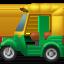 auto rickshaw Emoji on Apple, iOS
