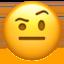 zipper-mouth face Emoji on Apple, iOS