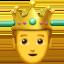 Emoji de príncipe en Apple, iOS