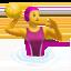 woman playing water polo Emoji on Apple, iOS