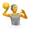 person playing water polo Emoji on Apple, iOS