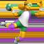 woman playing handball Emoji on Apple, iOS