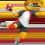 man playing handball Emoji on Apple, iOS