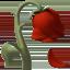 wilted flower Emoji on Apple, iOS
