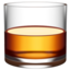 tumbler glass Emoji on Apple, iOS