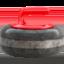 curling stone Emoji on Apple, iOS