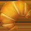 bread Emoji on Apple, iOS