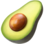 Emoji de aguacate en Apple, iOS
