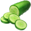 cucumber Emoji on Apple, iOS